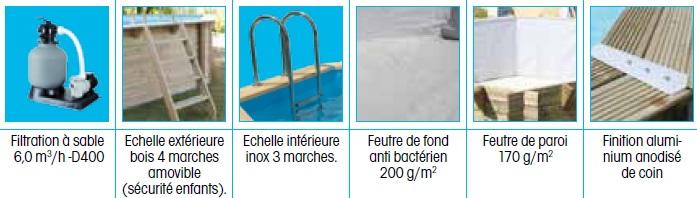 Accessoires piscine Océa 3,55 x 5,50-Ubbink-Anima-Jardin.fr