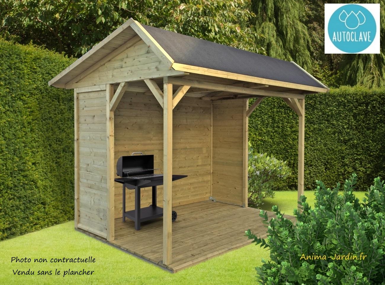 Grande Pergola Pas Cher pavillon de jardin en bois autoclave 19mm, ronsburg, 5m²