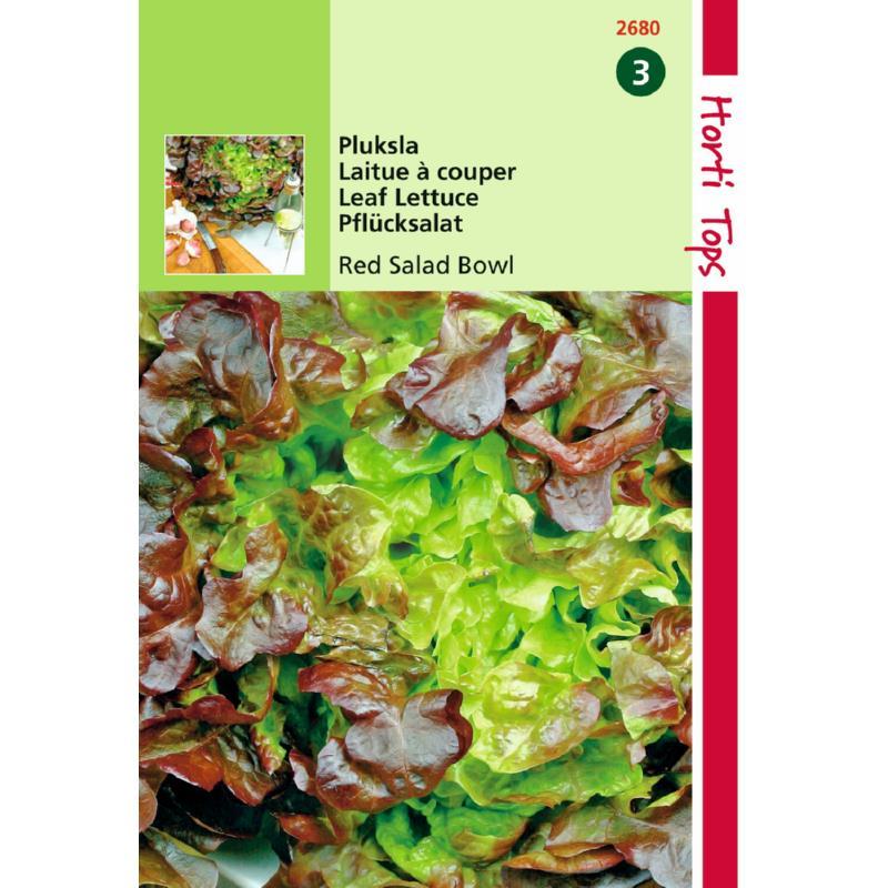 Graines de salade à couper-laitue Red Bowl-Hortitops-Anima-Jardin.fr