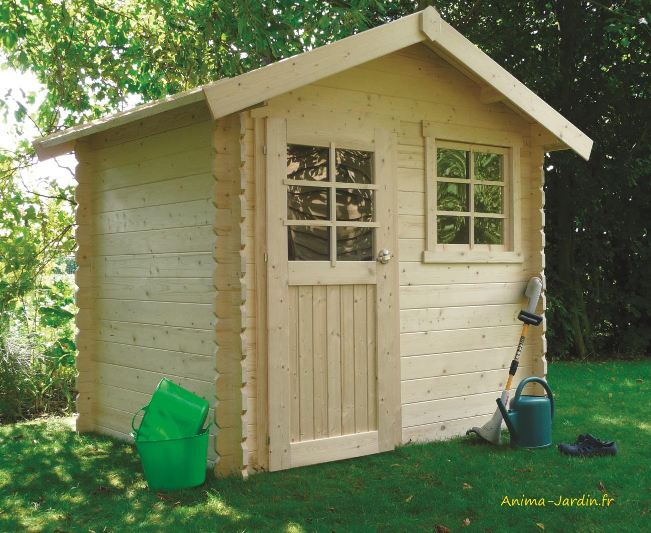 Abri-bois-jardin-extérieur-Saran-chalet-petite cabane-anima-jardin.fr