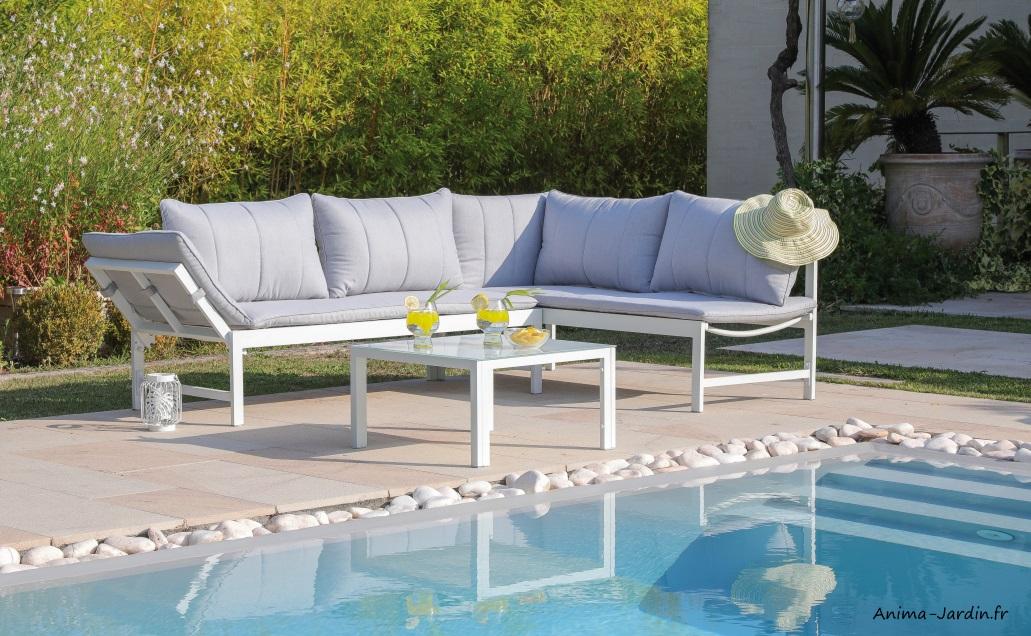Set Metz-salon de jardin-méridiennes-table-aluminium-Anima-Jardin.fr