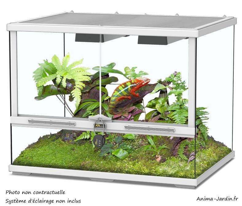 Terrarium-Smart Line 60x45-hauteur 60 cm-reptiles et amphibiens-Aquatlantis-Anima-Jardin.fr
