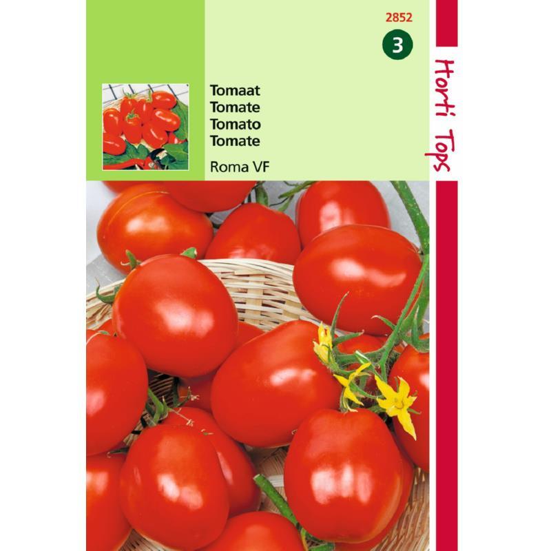 Graines de tomate Roma-Potagères-formes allongée-Tuinplus-Anima-Jardin.fr