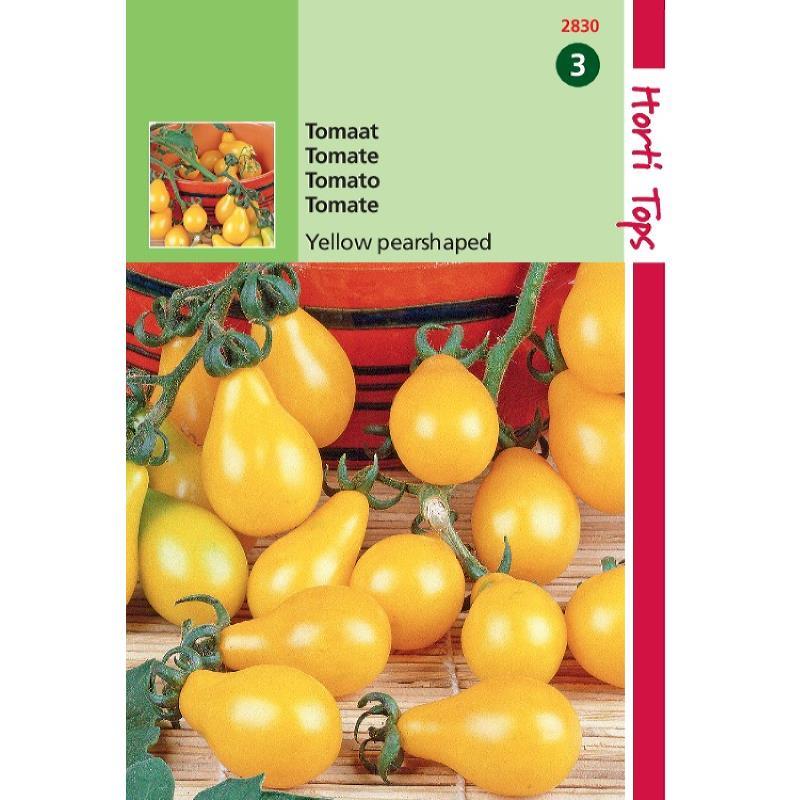 Graines de tomates Yellow Pearshaped-tomates jaunes poires-graines potagères-Hortitops-Anima-Jardin.fr