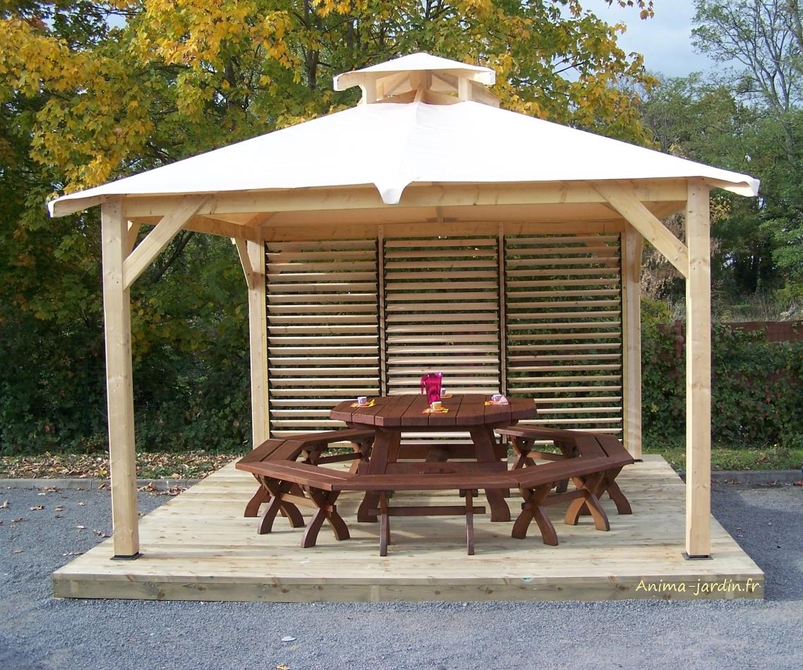 Awesome Tente De Jardin En Bois Ideas - House Design - marcomilone.com