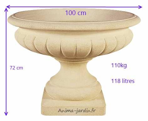 vasque-renaissance-100cm-dimensions