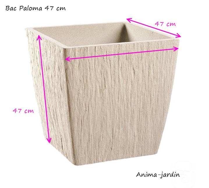 Bac-carré-paloma-47cm-anima-jardin