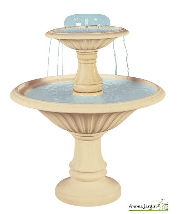 Fontaine Cascade 2 vasques