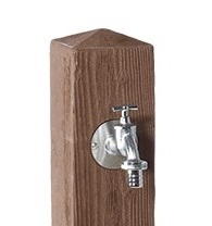 Robinet laiton-fontaine wood-Graf-Anima-Jardin.fr
