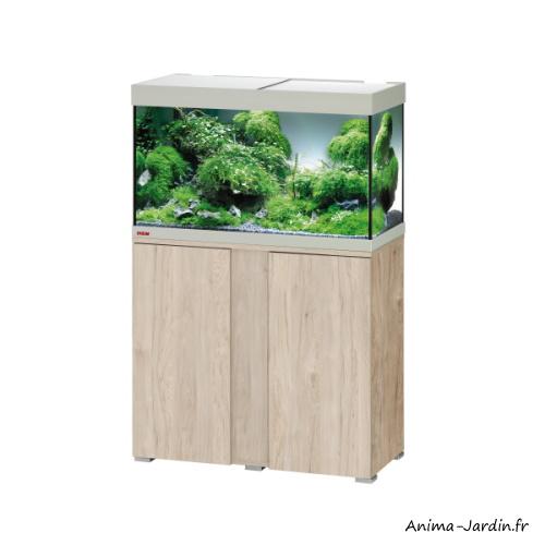 Aquarium Vivaline LED 126 avec meuble-kit complet-éclairage-filtre-chauffage-Eheim-Anima-Jardin.fr