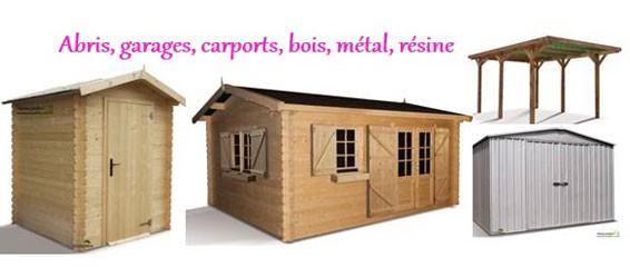 abris garage carport remise a outils jardin