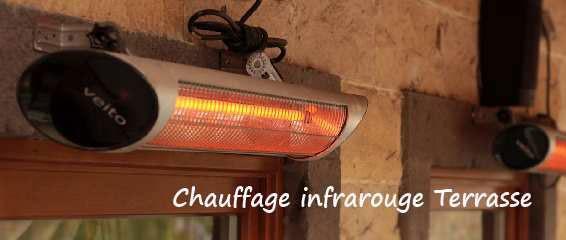 parasol chauffant chauffage infrarouge