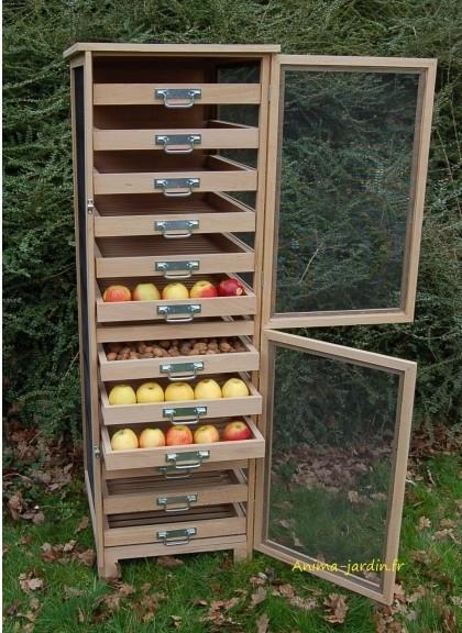 Légumier fruitier, garde manger, 150cm